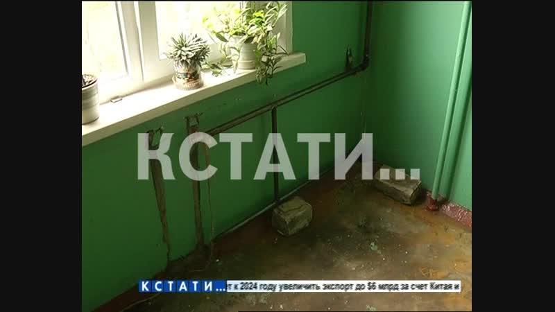 Тепловой удар - в Московском районе отопление пустили в дом без батарей