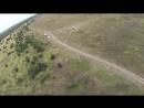 Полет на параплане (приземление), Вектор, Кончинка - 14.09.2018