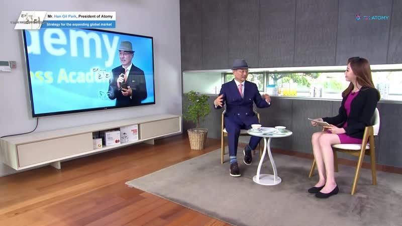 Интервью с Президентом Атоми Хан Гиль Паком на канале MTN