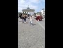 Германия.Берлин. Бранденбургские ворота. Июль 2018
