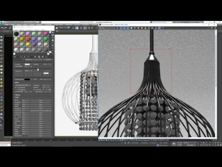Chandelier Materials creation with 3ds max and V-Ray
