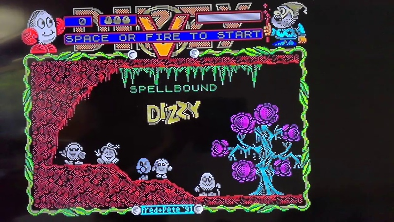Dizzy 5 with new interlaced graphic in menu