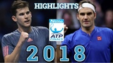 Roger Federer VS Dominic Thiem HIGHLIGHTS ATP Finals 2018