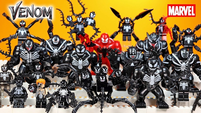 We are VENOM Movie LEGO BigFigs Minifigure Collection 2018