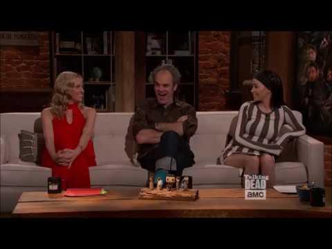 Talking Dead - Steven Ogg (Simon) on favourite moment with Austin Amelio (Dwight) on set