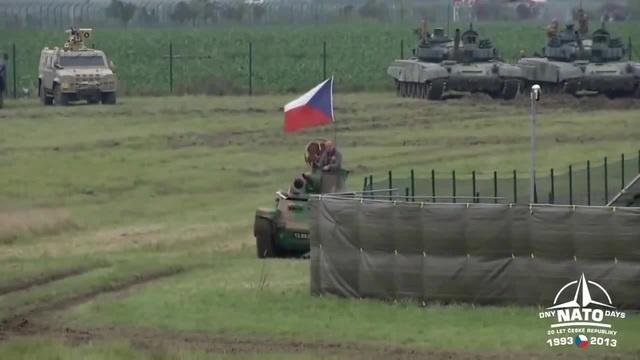Dny NATO 2013 Tank LT vz 35