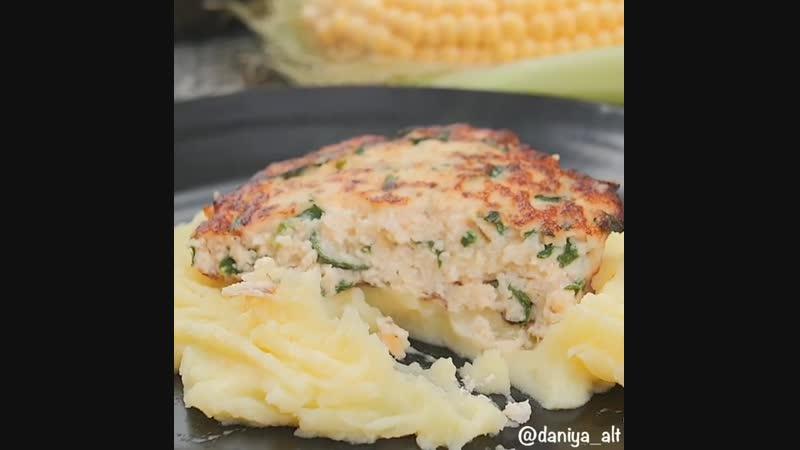 Котлеты из сёмги - Личный повар (ингредиенты в описании под видео)