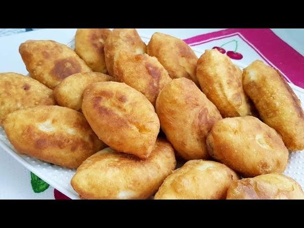Ифторлик учун 1 соатда тайер буладиган Пирожки/ Быстрые Пирожки на кефире с картошкой 👍🏻