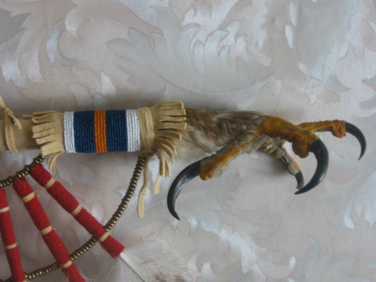 Продается жезл с лапой беркута - танцевальная ргалия для Северного традиционного (old style) 3PyBGPh6A40