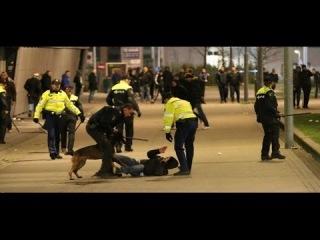 Hooligans:ADO Den Haag vs. police 04.02.2014
