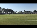K.D. Cannon out of bounds CowboysCamp Day 10