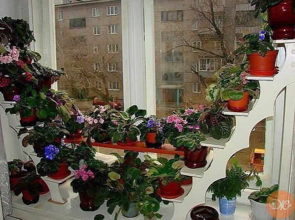 Удобная подcтавка для цвeтов