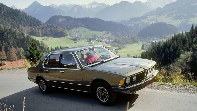 BMW 7 E23 раритет с душой и ковриками от evabel.ru