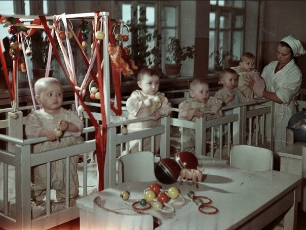 Вот так выглядели ясли с СССР.