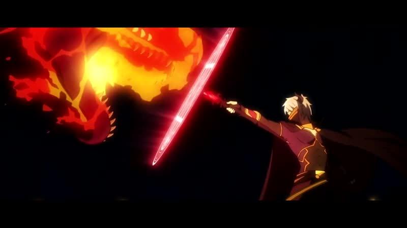 РЭП про Повелитель тьмы- Другая история мира - Isekai Maou to Shoukan Shoujo no Dorei Majutsu Rap