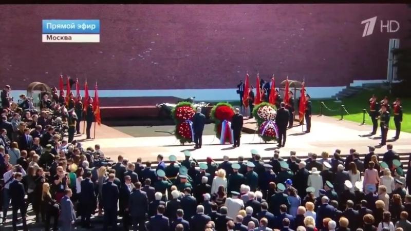 Гимн Израиля Атиква в центре Москвы