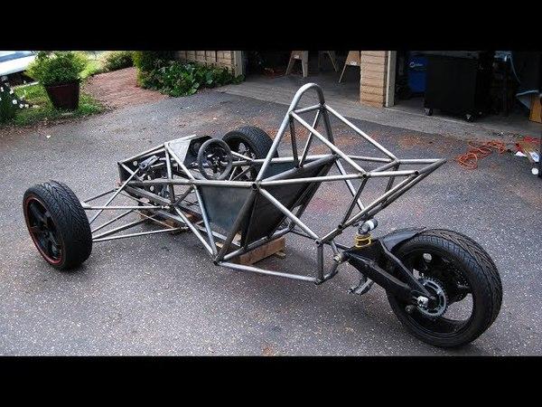 GSXR 1000 Powered Spartan Trike Build Project
