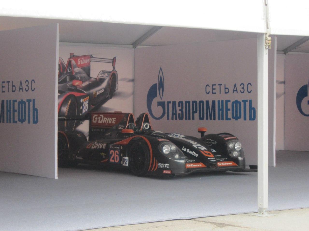 Паддок G-Drive Racing