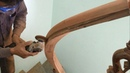 Amazing Techniques Especially Making Curved Handrail For Wooden Stairs You Have Never Seen Part 2
