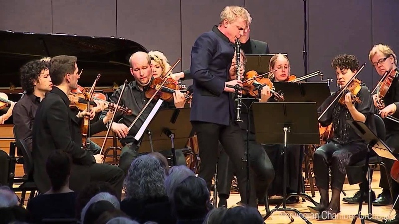 Martin Fröst | Norwegian Chamber Orchestra - Witold Lutosławski Dance preludes for clarinet, harp, piano strings, 4. Andante