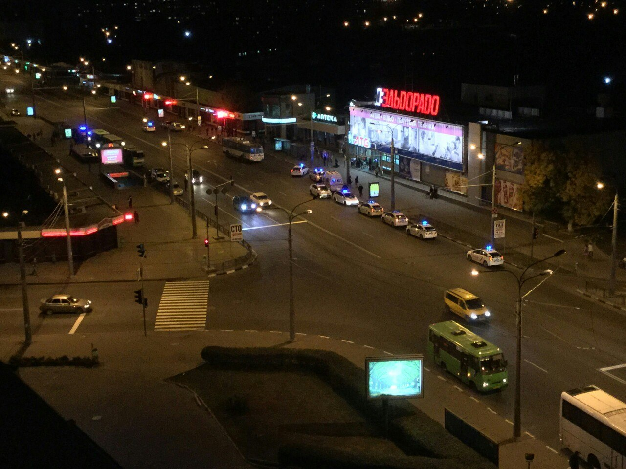 "Соцсети: ночью в центре Харькова напали на ""копа"""