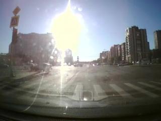 Дтп с мото 08.08.2018 на перекрестке Богатырского пр. Туристской ул.
