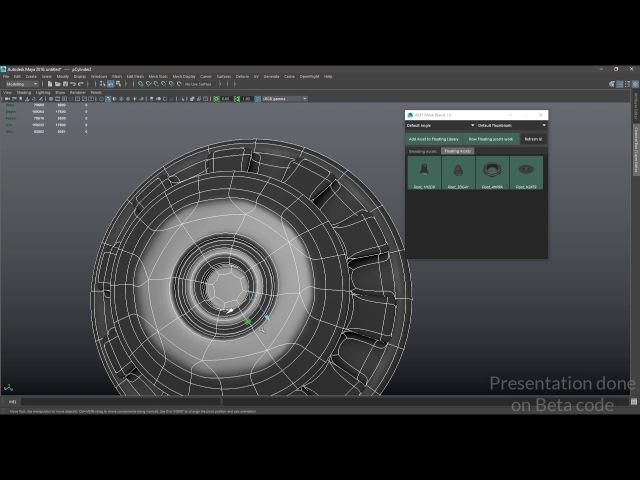 MESH BLEND Tutorial 01 : kitbash modeling tool for Maya