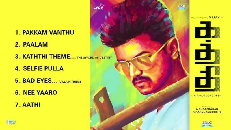 Kaththi 2014 Jukebox (Full Songs Tamil)
