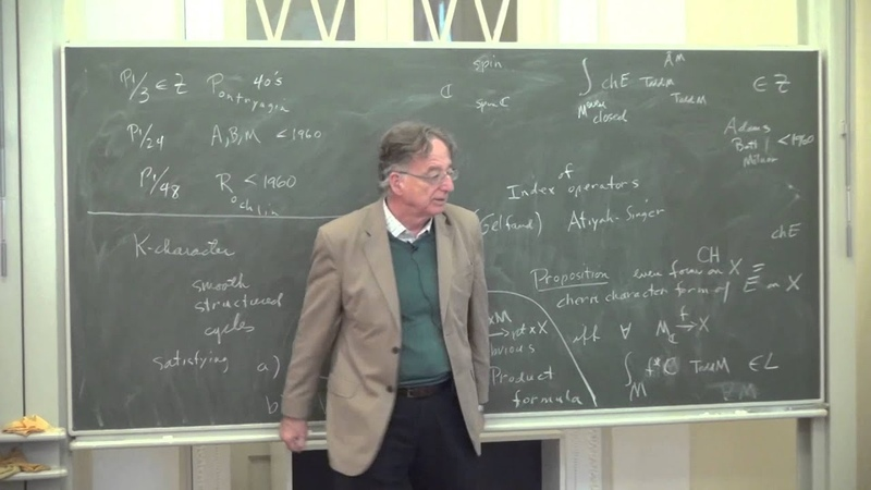 Differential K theory and its Characters D Sullivan James H Simons Лекториум
