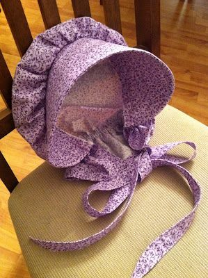 No Sew Old Fashioned Bonnet