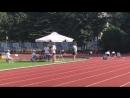 Всероссийские соревнования по лёгкой атлетике г Адлер Эстафета 4x100 м Наша команда по 7 дорожке