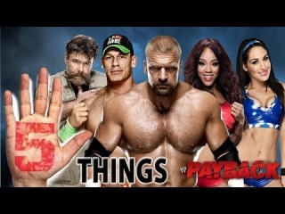 Five Superstars looking for payback: Five Things, May 28, 2014