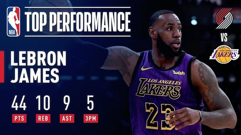 LeBron James DROPS 44 Passes Wilt Chamberlain On All-Time Scoring List | November 14, 2018