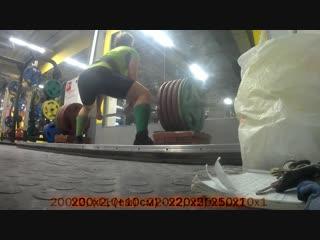 Подготовка к WRPF - 13/1(плинты + 10 см - 290+, 310-)