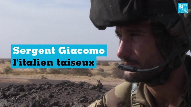 Portrait de Sergent Giacomo, l'Italien taiseux