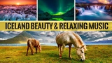 Soothing Relaxation Music &amp Ocean Waves Sounds With Iceland Natural Beauty For Sleeping &amp Meditation