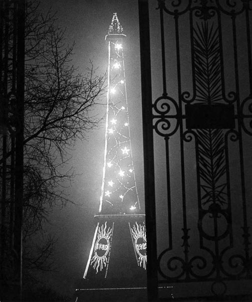 Ночной Париж Французский фотограф Брассай.1930-е гг