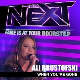 Ali Brustofski альбом When You're Gone