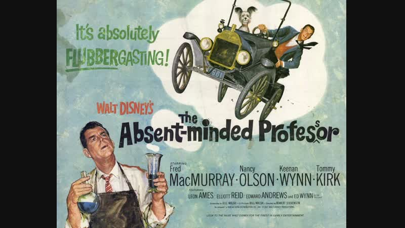 The Absent Minded Professor (1961) Fred MacMurray, Nancy Olson, Keenan Wynn