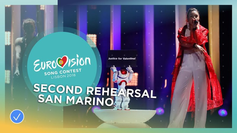 Jessika feat Jenifer Brening Who We Are Exclusive Rehearsal Clip San Marino Eurovision 2018