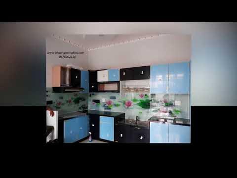 Kính ốp tường bếp tphcm