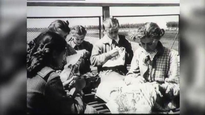 в пионерском лагере 1949