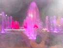 Анапа. Танцующие фонтаны.