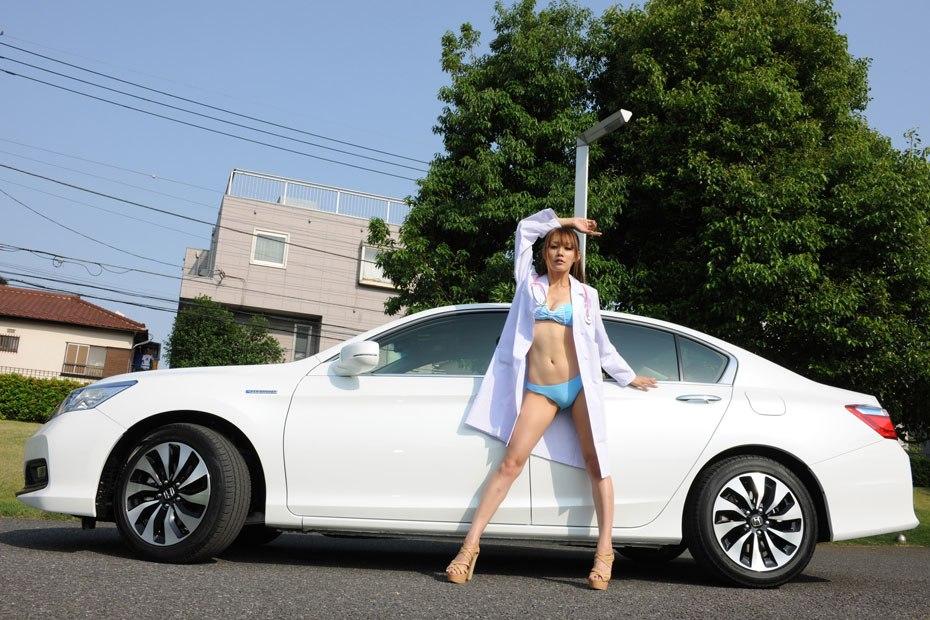 Honda Accord Hybrid Japan