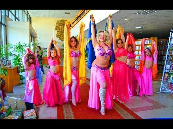Танець живота в Черкассах студия Роксолана Гульчатай открой личико
