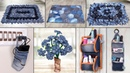 8 Old Jeans Ideas Best Out of Waste || Old Clothes Reuse