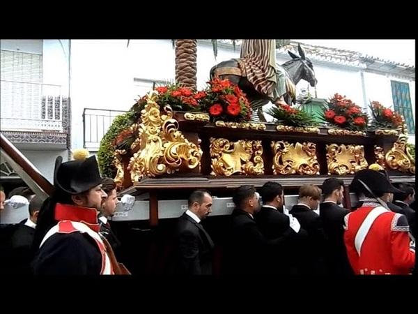 Domingo de Ramos 2018 AM Remedios marchas procesionales Pollinica ALHAURIN de la TORRE 25 03