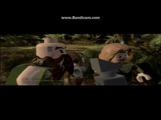 Лего Хоббит прохождение часть 4 { пещера троллей и странный маг }
