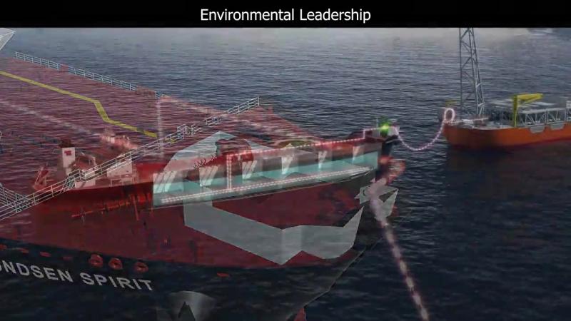 Teekays Amundsen Class Shuttle Tankers