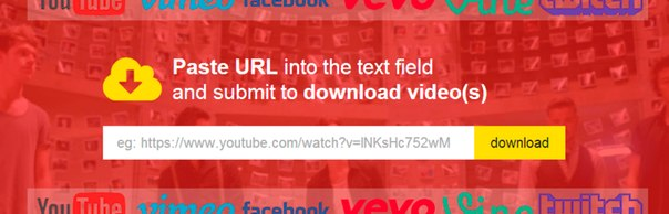 Как скачать видео с Youtube, Vimeo, Facebook, Flickr или Instagram без установки софта →